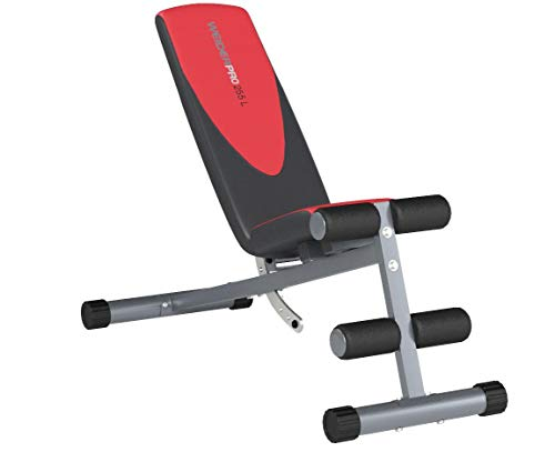 Product Image 6: Weider Incline Weight Bench black, 40L x 18.25W x 53.5H inches