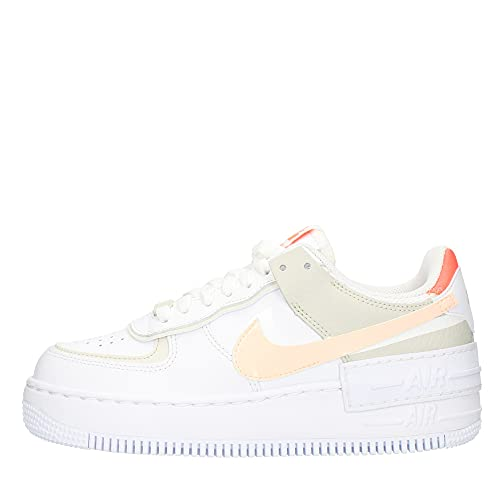 Nike Air Force 1 Shadow, Chaussures de Basket-Ball. Femme, Multicolore, 38.5 EU
