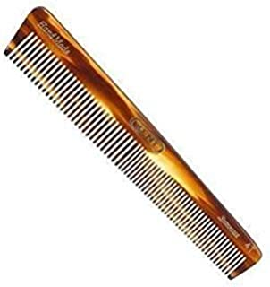 Kent 4T 6148mm The Hand Made General Grooming Comb Coarse/Fine Hair. Sawcut (3 PACK)