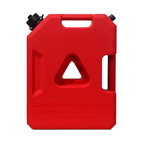TYX Bidon diésel engrosadas, bidon Gasolina portátiles plástico Antióxido, garrafa Gasolina Transporte Motocicletas Viajes Camping,Without Lock
