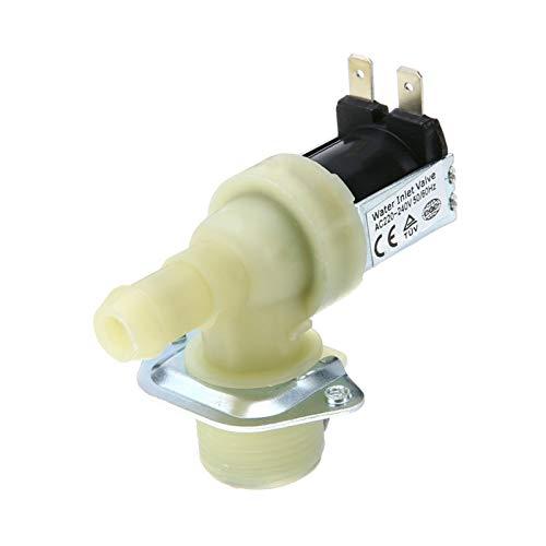 QPLKL Válvula 1pcs 3/4 '' 12mm Lavavajillas de Entrada de Agua de la válvula solenoide Masculino Conectar Hilo for Lavado AC máquina más Limpia para Agua, Aire.
