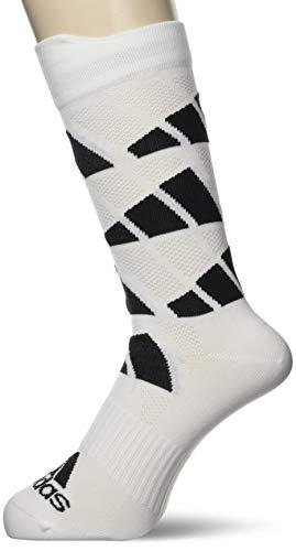 adidas AOP Crew Sock Calcetines, Blanco/Negro, S Unisex Adulto