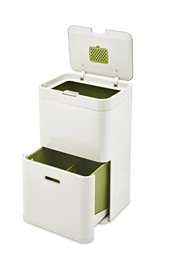 Joseph Joseph Totem 48 L - Cubo de basura, separación y rec