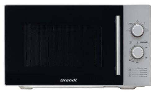 Brandt SM2602S Encimera 26L 900W Negro, Plata - Microondas (
