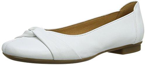 Gabor Shoes 04.111 Damen Geschlossene Ballerinas, Weiß (21 weiss), 39 EU