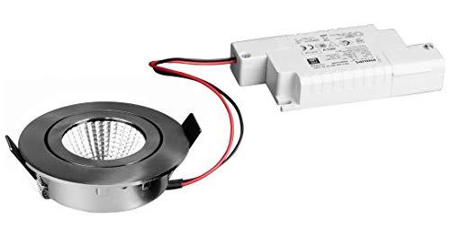 Brumberg Leuchten LED-Einbaustrahler 39363153 3000K NI./matt dimm. Downlight/Strahler/Flutlicht 4251433916727