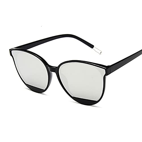 Nuevo clásico oval rojo mujeres gafas de sol mujer vintage lujo plástico marca diseñador gato ojo sol gafas Uv400 moda