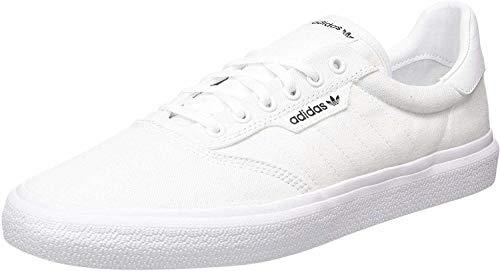 adidas Unisex Adults' 3mc Skateboarding Shoes, White (Ftwr White/Gold Met), 10 UK