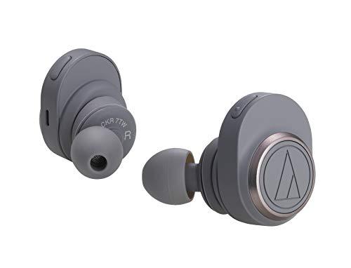 audio-technicaSoundReality完全ワイヤレスイヤホン最大約15時間再生グレーATH-CKR7TWGY