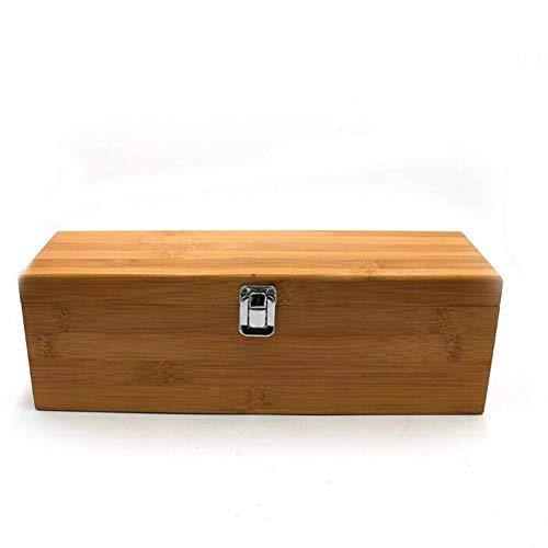 Caja Personalizada De Madera Con Juego Grabado, 5 Pieza Sumiller - Caja De Regalo De Bambú Para La Botella De Vino - Vino De La Caja Regalo De Cumpleaños - Tema Del Vino Mejor Año,1