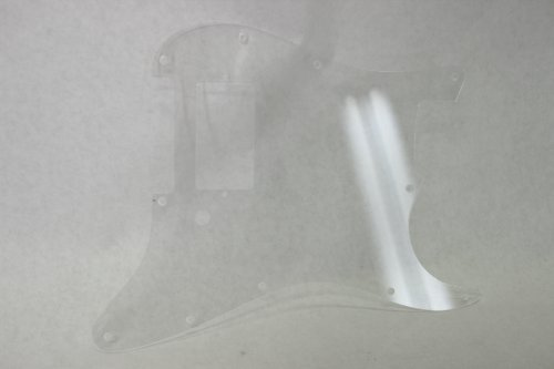 Strat HXX Clear Pickguard Fits Fender Stratocaster