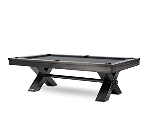 Discover Bargain Plank and Hide Vox Steel 8ft. Pool Table Co.-Installation Included