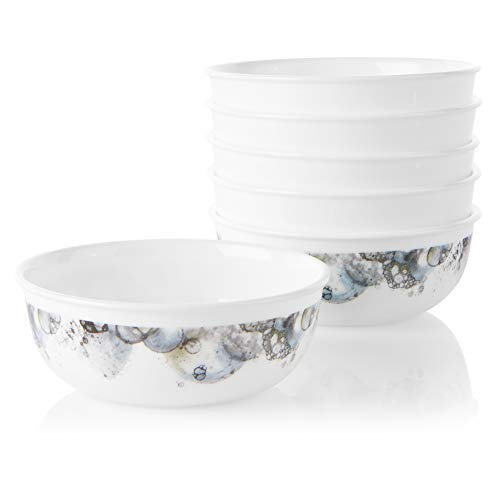 Corelle Chip Resistant Soup and Cereal Bowls, 6-Piece, Lumos