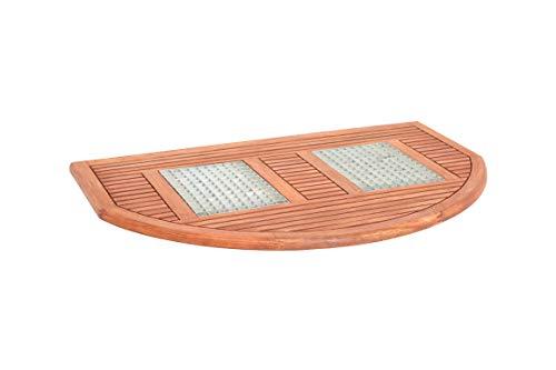 MERXX Fußrost, halbrund, 100 x 64 x 2,5 cm
