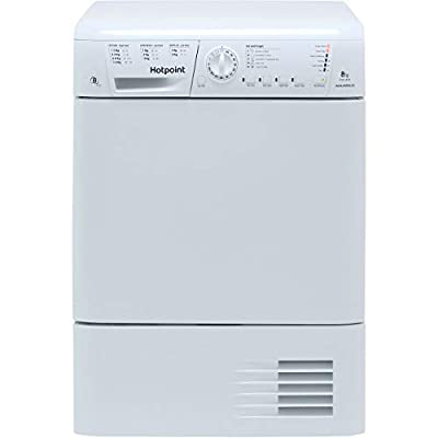 Hotpoint TCHL870BP Freestanding B Rated Condenser Tumble Dryer - White