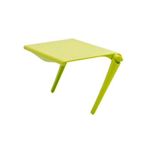 TabloKanvas Pantalla de TV Estante de Almacenamiento Superior Soporte de Escritorio Soporte de Rack Multifunción Ajustable (Color : Green)