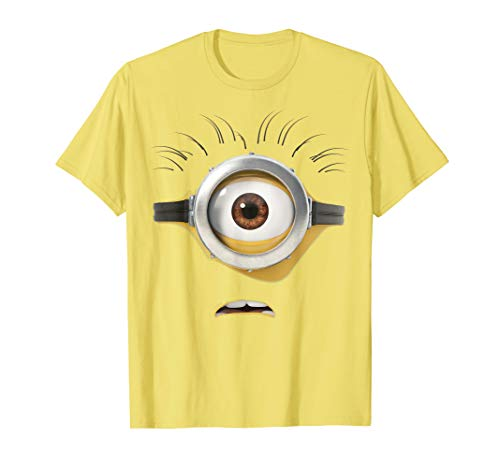 Despicable Me Minions Confused One-Eyed Face T-Shirt