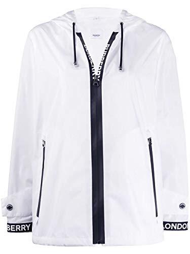 Luxury Fashion | Burberry Dames 8027532 Wit Polyester Outerwear Jassen | Lente-zomer 20