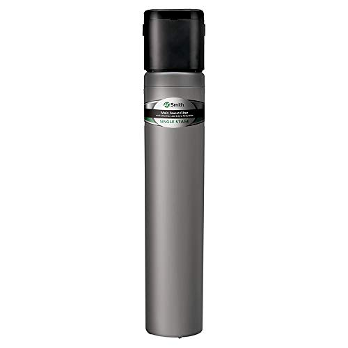 AO Smith Under Sink Water Filter System - Basic Direct Connect Main Faucet Clean Water Filtration - NSF Certified - Carbon Block Filter Reduces Up to 99% of 6 Harmful Contaminants - AO-MF