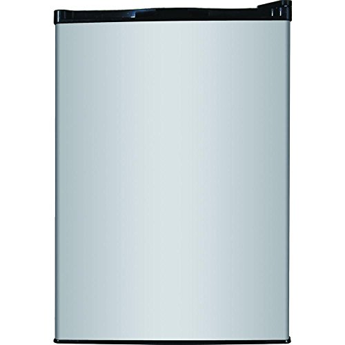 Magic Chef 2.6 cu. ft. Mini Refrigerator in Stainless Look, ENERGY STAR