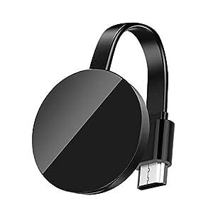 WiFi Aparato para la conexión de WiFi, osloon WiFi inalámbrico 1080 P Mini Aparato Receptor HDMI TV Miracast DLNA Airplay para iOS/Android/Mac