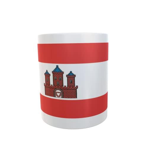 U24 Tasse Kaffeebecher Mug Cup Flagge Rendsburg