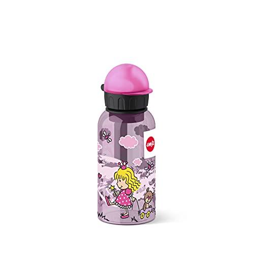 Emsa 518122 Kids Tritan Bottiglia, Tappo-Beccuccio, Decorazione Princess, Multicolore, 7 x 7 x 18 cm