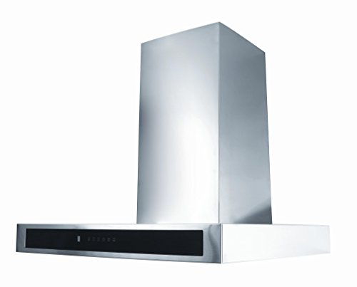 Pyramis VALIDO 90 Wandhaube / 900 cm/Elektronische Bedientasten/Edelstahl