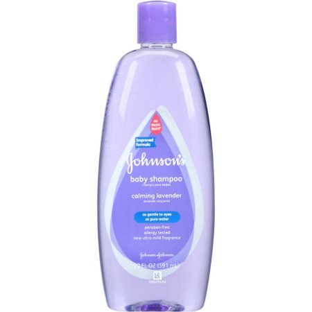 Baby Johnsons Shampoo With Natural Lavender For Baby