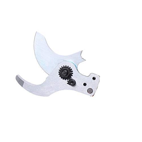 Manual Cuchilla de corte de 45 mm tijeras eléctricas Tijeras de podar ramas cortador de la herramienta de jardín recargable (Color : Bottom blade)