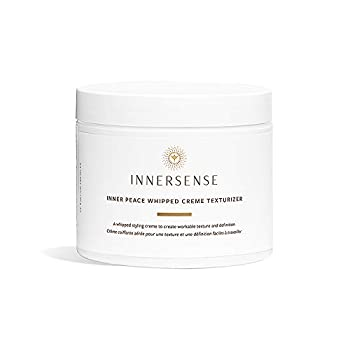 Innersense - Organic Inner Peace Whipped Cream Hair Texturizer | Clean Non-Toxic Haircare  3.4 oz - NEW PACKAGING