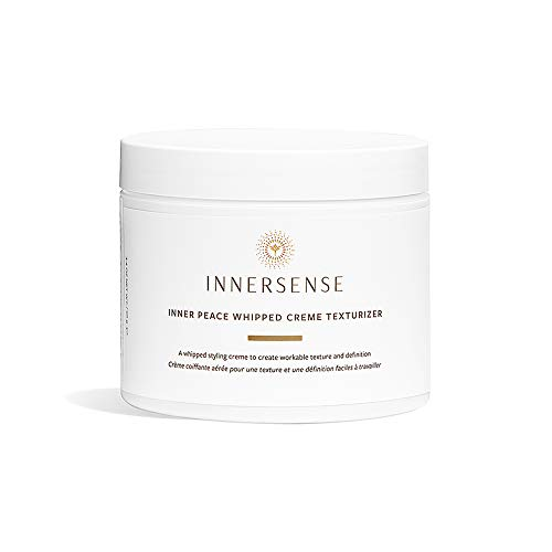 Innersense - Organic Inner Peace Whipped Cream Hair Texturizer | Clean, Non-Toxic Haircare (3.4 oz - NEW PACKAGING)