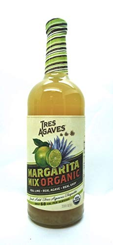 Tres Agaves Organic Margarita Mix 1L (Pack of 2)