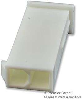 39-01-3029 - Connector Housing, No Mounting Ears, UL 94V-0, Mini-Fit Jr. 5559 Series, Plug, 2 Positions, 4.2 mm (Pack of 100) (39-01-3029)