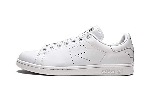 adidas Men's RAF Simmons Stan Smith Cream CG3351 (Size: 6.5)