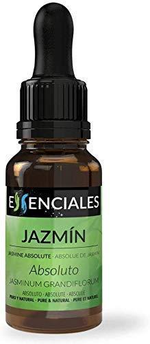 Essenciales - Aceite Esencial Absoluto de Jazmín, 100% Natural, 5 ml   Aceite Esencial Absoluto Jasminum Grandiflorum