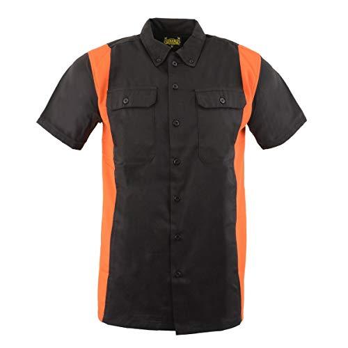 Two Tone Button Down Shirt