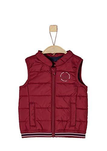 s.Oliver s.Oliver Baby-Jungen 59.808.53.2137 Weste, Rot (Red 3580), 62