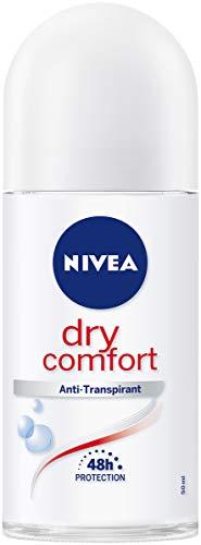 Nivea roll-on deodorant 50ml Dry Comfort, wit