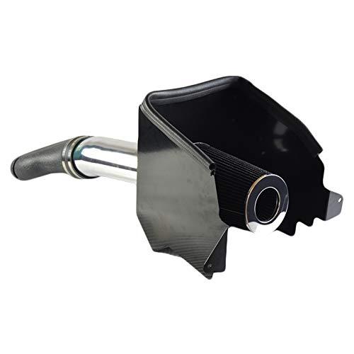 Cold Air Intake Kit with Filter Heat Shield fit for Dodge 1994-2001 Ram 1500 & 1994-2002 Ram 2500 V8 5.2L 5.9L (Black)