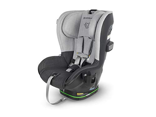 Find Bargain UPPAbaby Knox Convertible Car Seat - Jordan (Charcoal Melange with Citron Accent) Wool ...