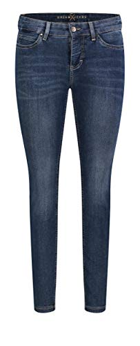 MAC Jeans Damen Dream Skinny Jeans, Blau (blue authentic wash D626), W00/L32