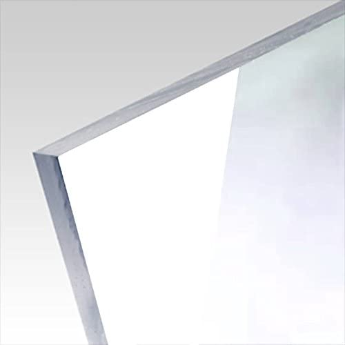 5mm Acrylglas Platte 50x50 cm schwarz opak