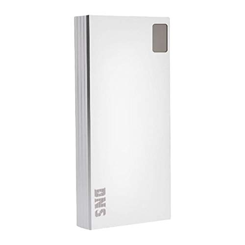 Goldline Dekka, GRAPHENE Power Bank USB C Portable Charger, 20000+mAh PD Power Bank External Battery for USB C and USB A Smart Phones, Tablets, Laptops and Other Smart Devices (20000, Silver)