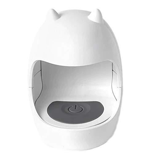 Youmine Secador de UUAs USB UV LáMpara LED Arte de UUAs Herramientas de Manicura DiseeO de Forma de Huevo 30S Luz de Curado de Secado RáPido para Esmalte de Gel