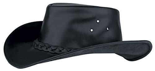 Wild West Cowboy Hut Gipsy Unisex Hut schwarz XL 100% Leder Undefiniert Basics