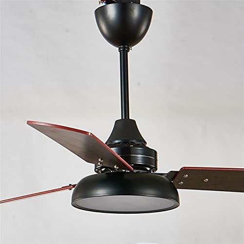 Lámpara colgante del ventilador Fan Light Moderno Simple Macarrones Sala de estar...