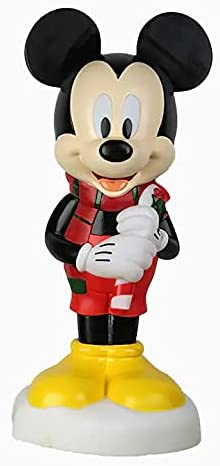 Lighted Blow gift Mold Mickey Mouse Pre Decoration favorite Lit Sculpture Disp
