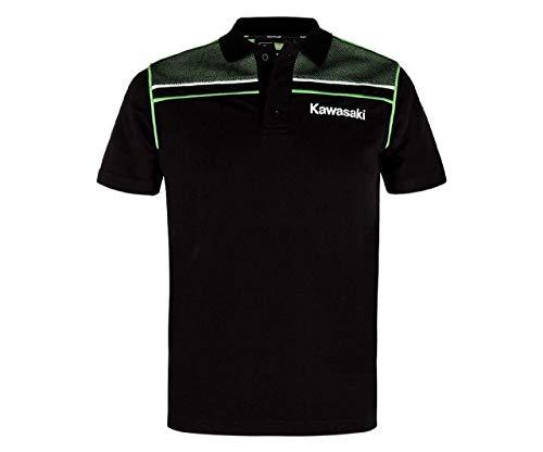 Kawasaki Sports Herren Polo schwarz Größe 3XL