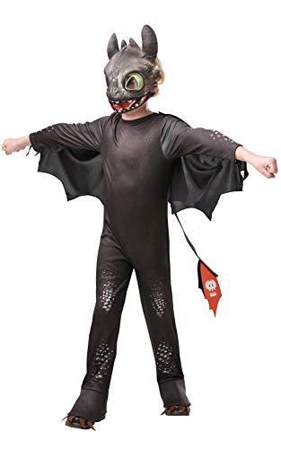 Rubies 3641470 Kostüm, Unisex-Kinder, schwarz